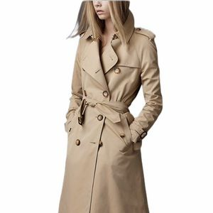 Authentic Burberry Tan Trench Coat Size S